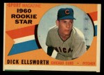 1960 Topps #125  Rookies  -  Dick Ellsworth Front Thumbnail
