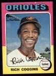 1975 Topps #167   Rich Coggins Front Thumbnail