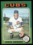 1975 Topps #63  Steve Swisher  Front Thumbnail
