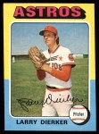 1975 Topps #49   Larry Dierker Front Thumbnail