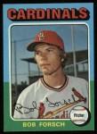 1975 Topps #51  Bob Forsch  Front Thumbnail