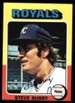 1975 Topps #120  Steve Busby  Front Thumbnail