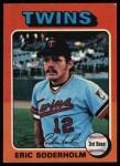 1975 Topps #54   Eric Soderholm Front Thumbnail