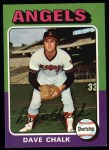 1975 Topps #64   Dave Chalk Front Thumbnail