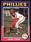 1975 Topps #22  Dave Cash  Front Thumbnail