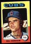 1975 Topps #85  Bill Bonham  Front Thumbnail
