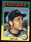 1975 Topps #86  Joe Lis  Front Thumbnail