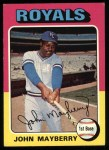 1975 Topps #95   John Mayberry Front Thumbnail