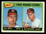 1965 Topps #194  Angels Rookies  -  Bill Kelso / Rick Reichardt Front Thumbnail