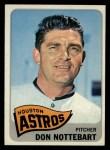 1965 Topps #469   Don Nottebart Front Thumbnail