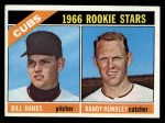 1966 Topps #392  Cubs Rookies  -  Bill Hands / Randy Hundley Front Thumbnail