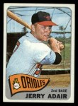 1965 Topps #231   Jerry Adair Front Thumbnail