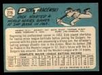 1965 Topps #279   Dick Tracewski Back Thumbnail
