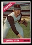 1966 Topps #441  Tommie Sisk  Front Thumbnail
