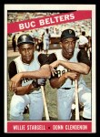 1966 Topps #99  Buc Belters  -  Willie Stargell / Donn Clendenon Front Thumbnail