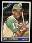 1966 Topps #143  Jose Tartabull  Front Thumbnail