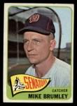 1965 Topps #523  Mike Brumley  Front Thumbnail