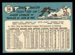 1965 Topps #296   Tony Taylor Back Thumbnail