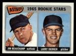 1965 Topps #409   -  Jim Beauchamp / Larry Dierker Astros Rookies Front Thumbnail