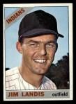 1966 Topps #128  Jim Landis  Front Thumbnail