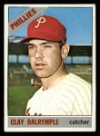 1966 Topps #202  Clay Dalrymple  Front Thumbnail
