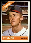 1966 Topps #306   Ty Cline Front Thumbnail