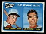 1965 Topps #501  Indians Rookies  -  Jim Rittwage / Ralph Gagliano Front Thumbnail