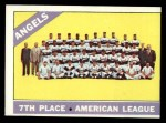 1966 Topps #131  Angels Team  Front Thumbnail
