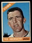 1966 Topps #2  Ted Abernathy  Front Thumbnail