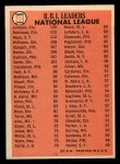 1966 Topps #219   -  Deron Johnson / Willie Mays / Frank Robinson NL RBI Leaders Back Thumbnail