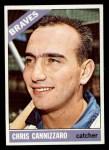 1966 Topps #497   Chris Cannizzaro Front Thumbnail