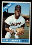 1966 Topps #40   Mudcat Grant Front Thumbnail