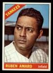 1966 Topps #186  Ruben Amaro  Front Thumbnail