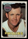 1969 Topps #51   Woody Fryman Front Thumbnail