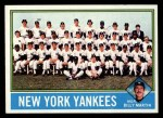 1976 Topps #17  Yankees Team Checklist  -  Billy Martin Front Thumbnail