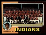 1975 Topps Mini #331  Indians Team Checklist  -  Frank Robinson Front Thumbnail