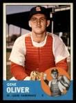 1963 Topps #172  Gene Oliver  Front Thumbnail