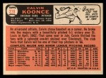 1966 Topps #278  Cal Koonce  Back Thumbnail