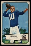 1954 Bowman #14  Fred Enke  Front Thumbnail