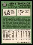 1967 Topps #522   John Stephenson Back Thumbnail