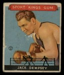 1933 Goudey Sport Kings #17   Jack Dempsey  Front Thumbnail