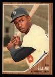 1962 Topps #486   Jim Gilliam Front Thumbnail