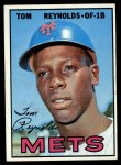 1967 Topps #487 COR  Tommie 'Tom' Reynolds Front Thumbnail