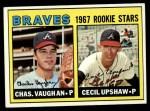 1967 Topps #123   Pirates Rookie Stars  -  Jim Price / Luke Walker Front Thumbnail
