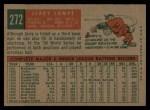 1959 Topps #272  Jerry Lumpe  Back Thumbnail