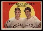 1959 Topps #408  Keystone Combo  -  Luis Aparicio / Nellie Fox Front Thumbnail