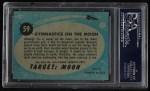 1957 Topps Target Moon #59   Gymnastics on Moon  Back Thumbnail
