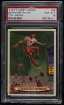 1957 Topps Target Moon #59   Gymnastics on Moon  Front Thumbnail