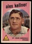 1959 Topps #101  Alex Kellner  Front Thumbnail