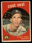 1959 Topps #52   Coot Veal Front Thumbnail